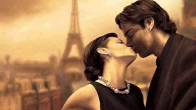hôn kiểu pháp nồng cháy