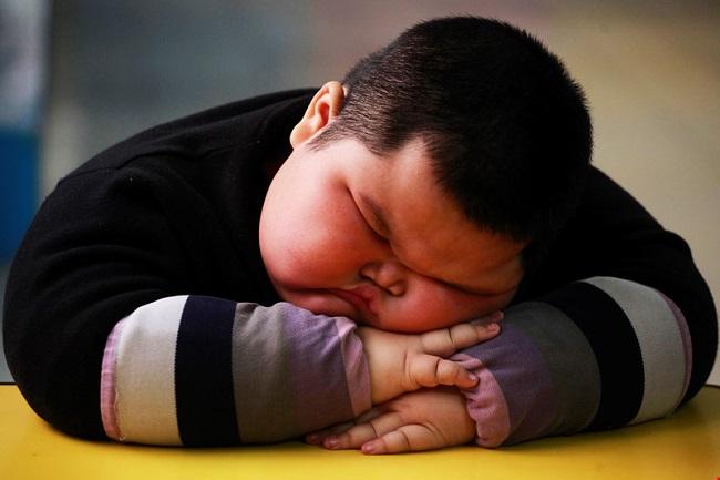 Tỉ lệ béo phì ở trẻ ngày càng cao