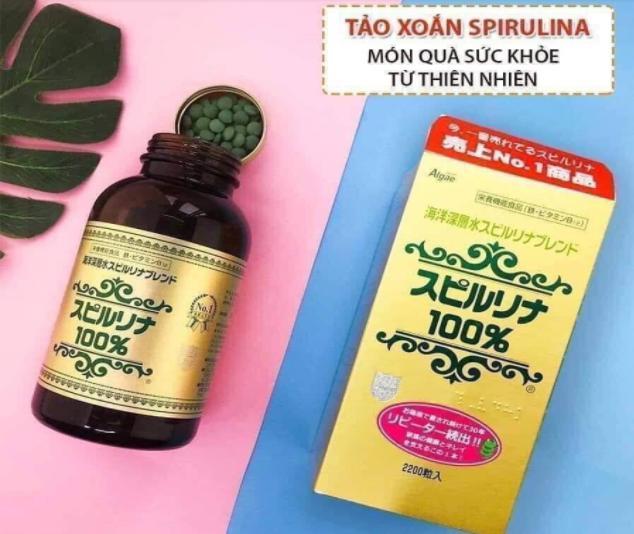 Hướng dẫn sử dụng Tảo Nhật Spirulina đúng cách